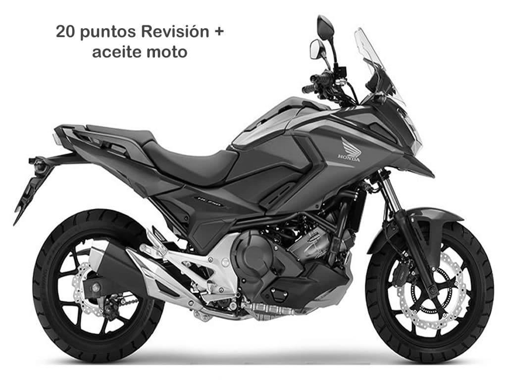 Oferta Mantenimiento 20 moto a partir de 300cc
