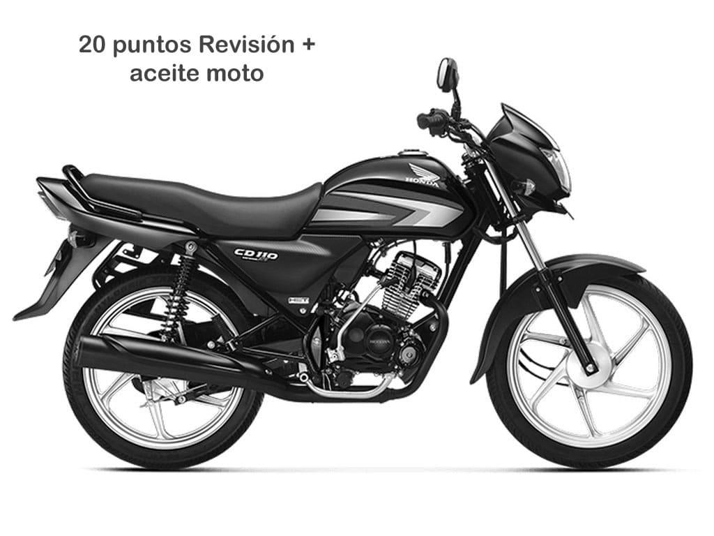 Oferta Mantenimiento 20 moto hasta 300cc
