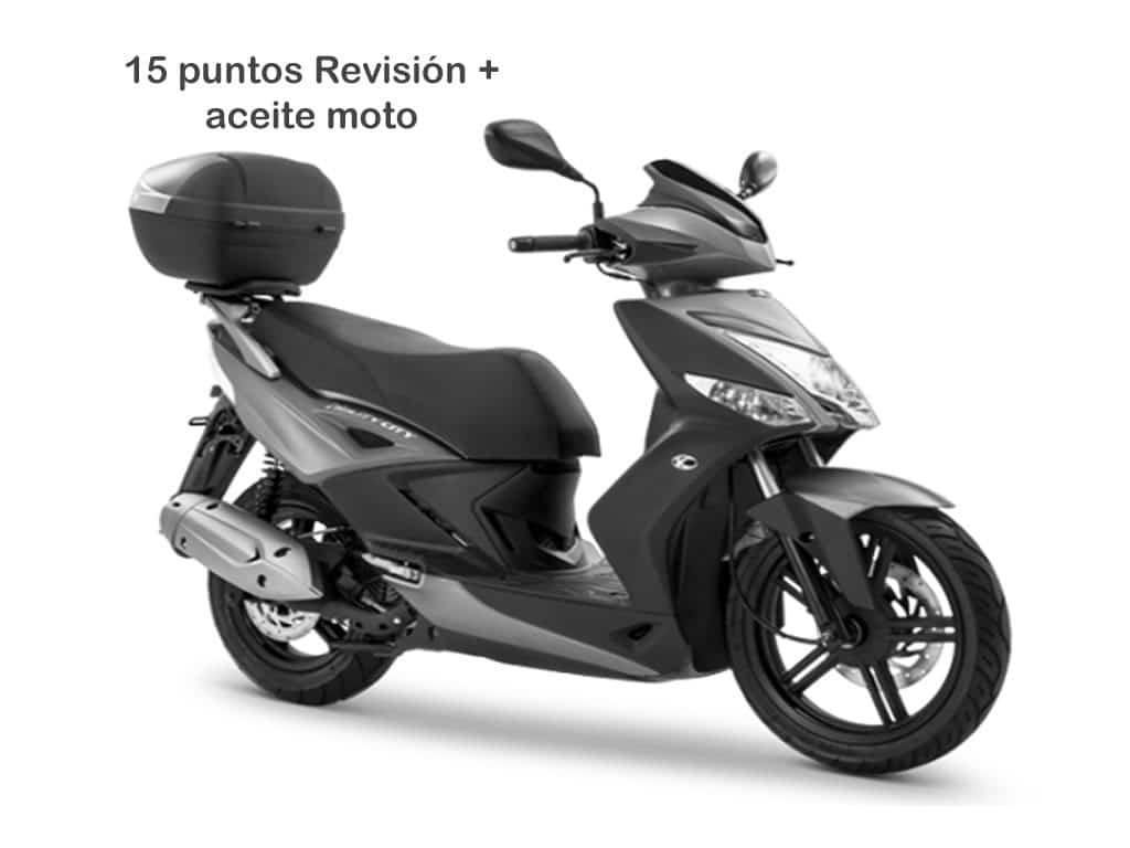 Oferta Mantenimiento 15 scooter hasta 250cc