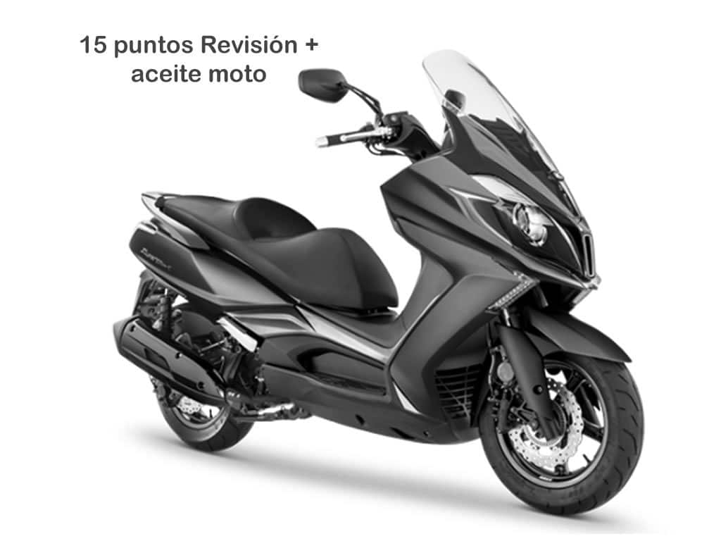 Oferta Mantenimiento 15 scooter mayor de 250cc