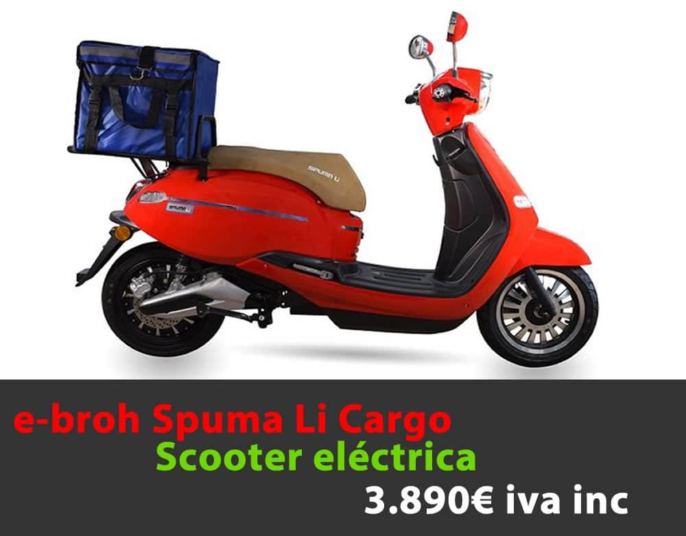 e-broh SPUMA LI Cargo 3.890€ iva inc