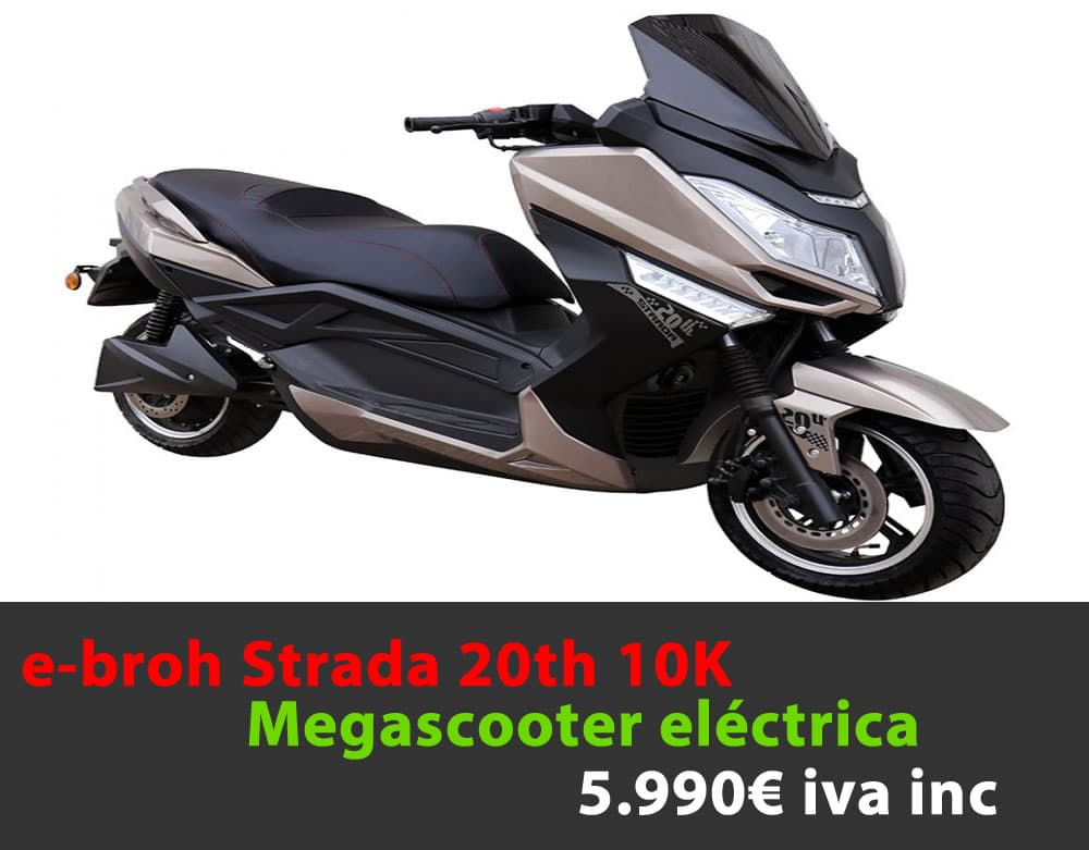 e-broh Strada 20th 10K 5.990€ iva inc